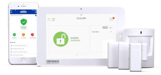brinks home security keypad manual
